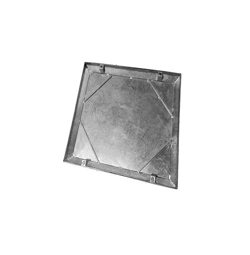 600mm x 600mm Galvanised 10tn Double Seal WREKiN 40mm Recessed Tray Access Cover.