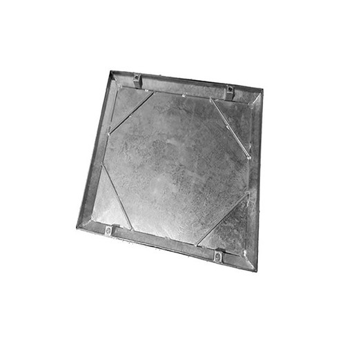 670mm x 670mm Galvanised 10tn Double Seal WREKiN 40mm Recessed Tray Access Cover.
