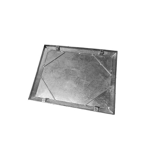 750mm x 600mm Galvanised 10tn Double Seal WREKiN 40mm Recessed Tray Access Cover.