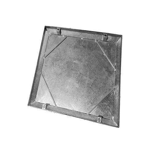 750mm x 750mm Galvanised 10tn Double Seal WREKiN 40mm Recessed Tray Access Cover.