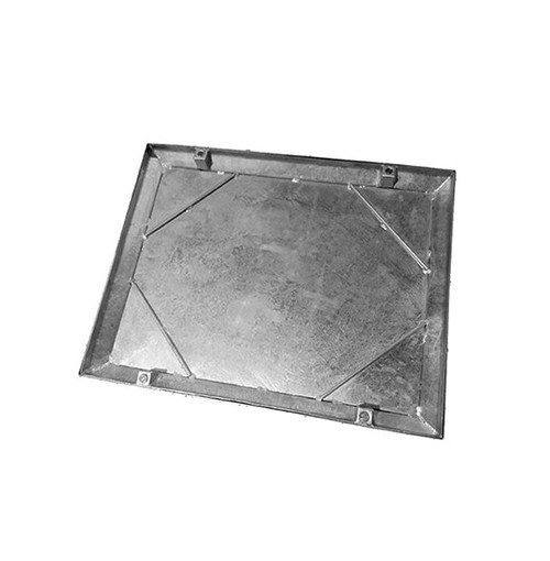 900mm x 750mm Galvanised 10tn Double Seal WREKiN 40mm Recessed Tray Access Cover.