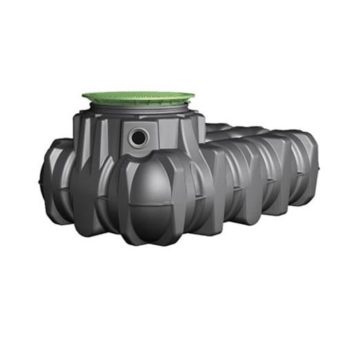 3,000 litre GRAF Platin Rainwater Tank.