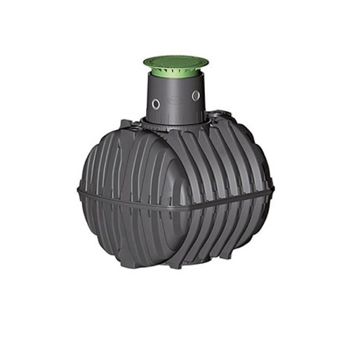 2,700 litre GRAF Carat-S Rainwater Tank.