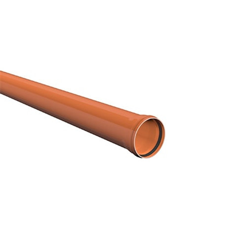 6m x 110mm ULTRA3 Sewer Drainage Pipe.