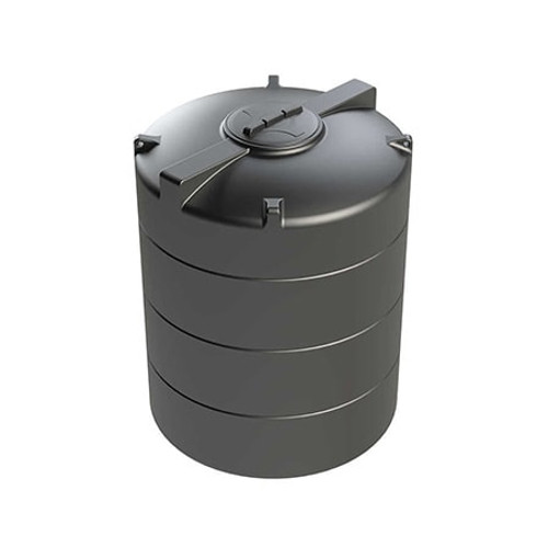 2,500 litre Vertical Enduramaxx Rainwater Harvesting Tank.