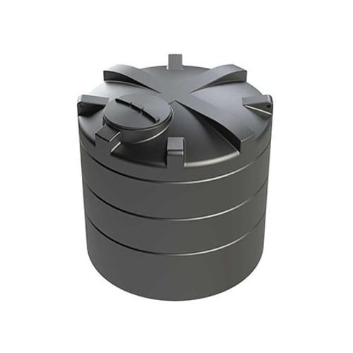 4,000 litre Vertical Enduramaxx Rainwater Harvesting Tank.