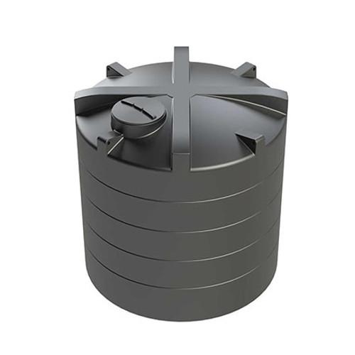 12,500 litre Vertical Enduramaxx Rainwater Harvesting Tank.