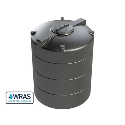 2,500 litre Vertical Enduramaxx Potable Water Tank.