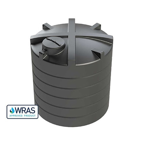10,000 litre Vertical Enduramaxx Potable Water Tank.