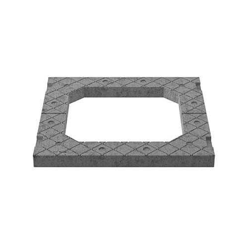 600x600mm Central Access Concrete Adjusting Unit - 2 piece.