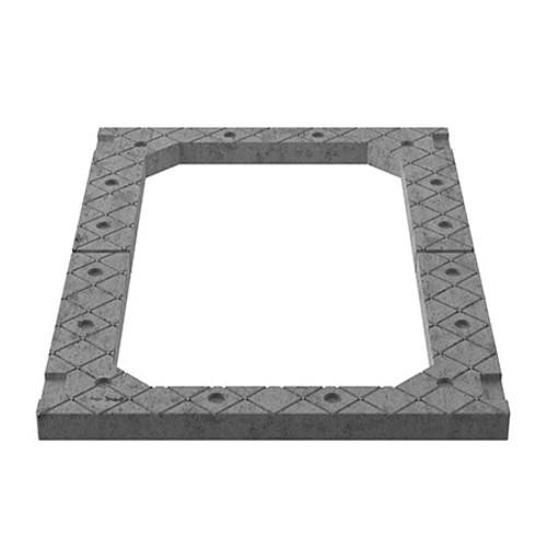 1200x675mm Central Access Concrete Adjusting Unit - 2 piece.