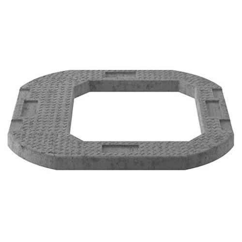 600x600mm Eccentric Access Concrete Adjusting Unit - 1 piece.