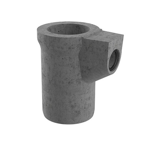 375x750mm 50 litre Gully Pot - 150mm Outlet (Seal Fitted).