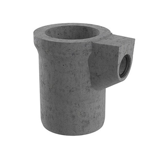 450x750mm 70 litre Gully Pot - 150mm Outlet (Seal Fitted).