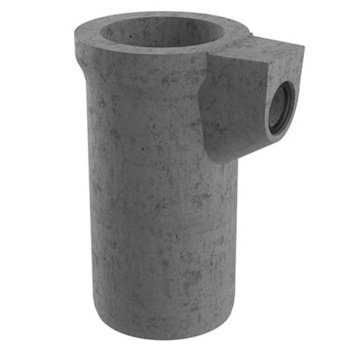 450x1050mm 120 litre Gully Pot - 150mm Outlet (Seal Fitted).