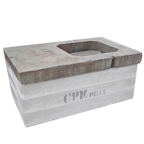 1200 x 675mm Rectangular Concrete Cover Slab - Heavy Duty