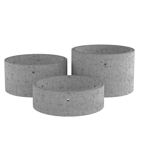 3000mm Concrete Manhole Chamber Ring - Non Stepped Range.