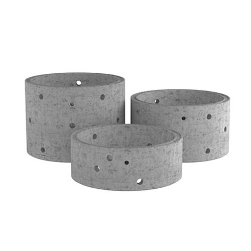 1200mm Concrete Soakaway Chamber Ring - Non Stepped Range.
