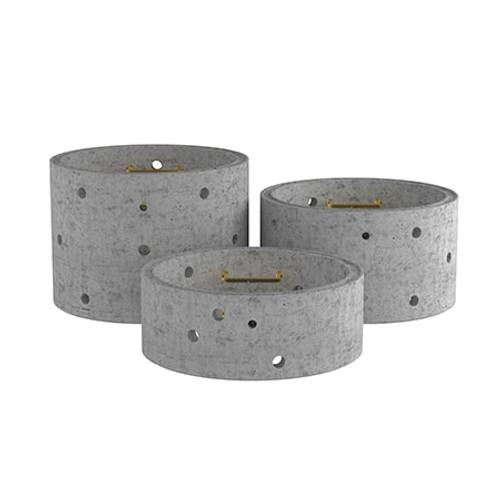 1200mm Concrete Soakaway Chamber Ring - Double Step Range.