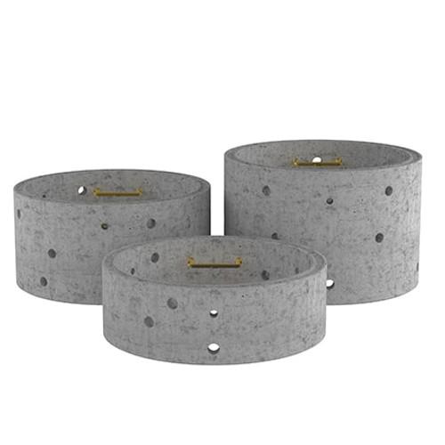 1350mm Concrete Soakaway Chamber Ring - Double Step Range.