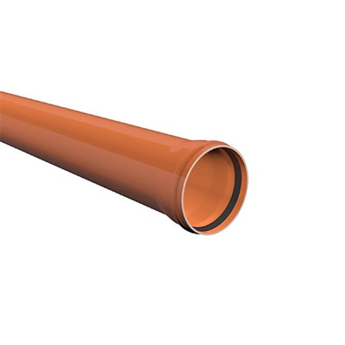 6m x 160mm ULTRA3 Sewer Drainage Pipe.
