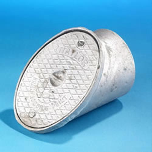 160mm Oval Sealed Aluminium Rodding Eye