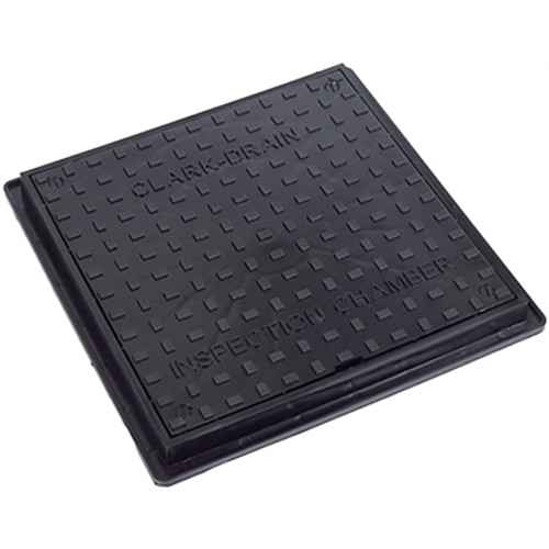 300mm Square to Round PP Manhole Cover & Frame (Domestic Driveway).