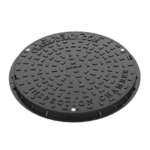 450mm 3.5T PP Round Manhole Cover & Frame.
