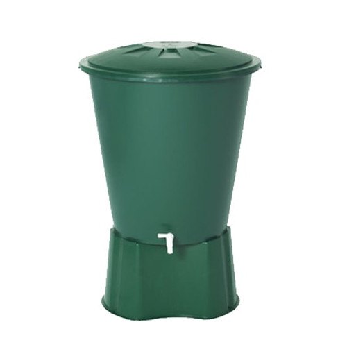 210 litre GRAF Round Water Butt.