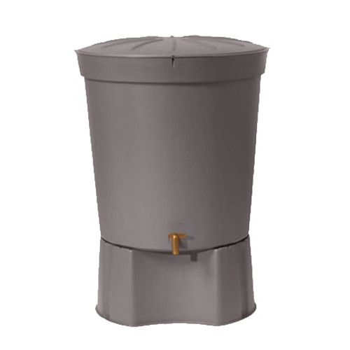 Designer Water Butt - Graphite Grey.