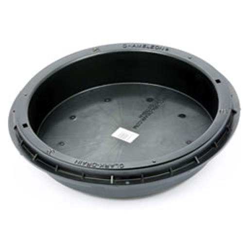 450mm Round PP Recessed Locking Drain Cover Frame
