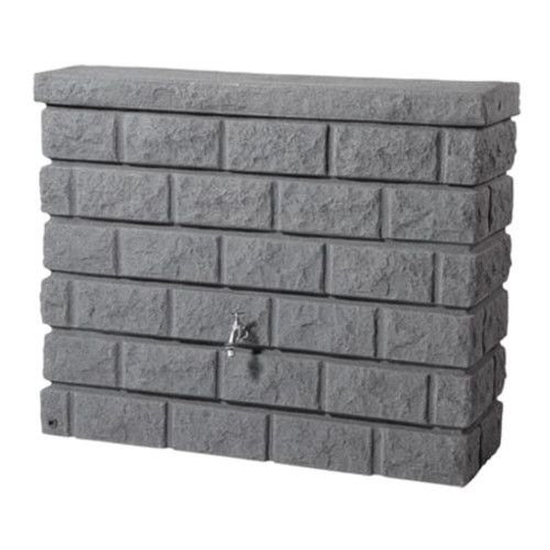 GRAF Rocky Wall Water Butt - Dark Granite.