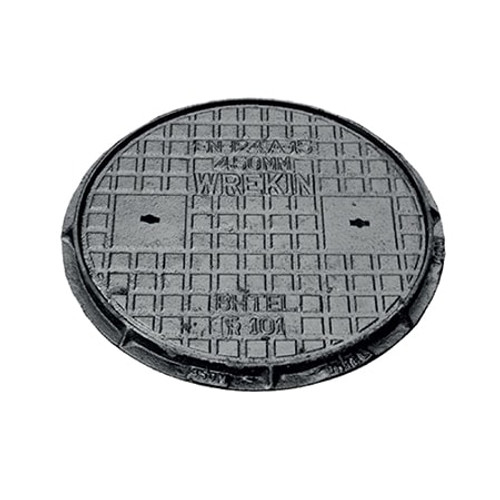450mm dia WREKiN Cast Iron PPIC Access Cover.