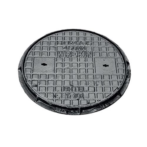 450mm dia WREKiN Cast Iron PPIC Access Cover.