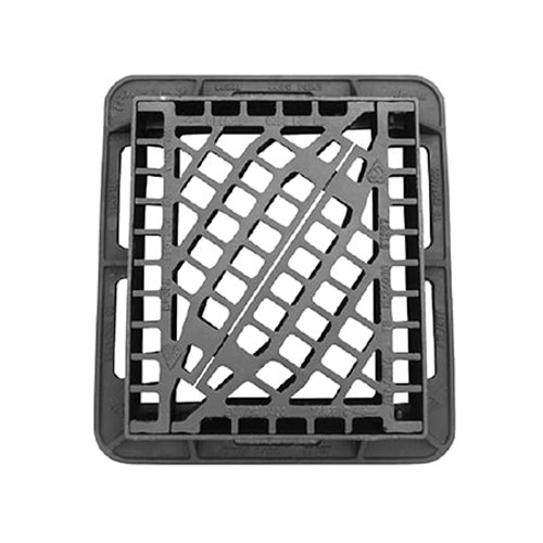 430x370mm WREKiN Tri-Way Wheel-Safe Gully Grate - Group 4.