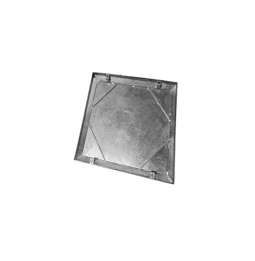 450mm x 450mm Galvanised 10tn Double Seal WREKiN 40mm Recessed Tray Access Cover.