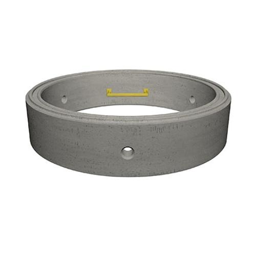 1050 x 250mm Concrete Manhole Ring.