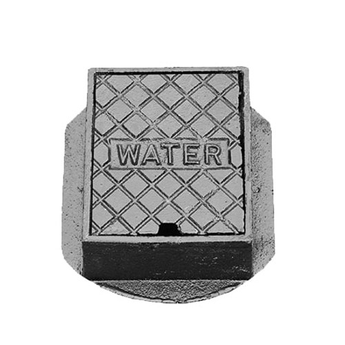 150x125x75mm Cast Iron Hinged WREKiN Stop Tap Box.
