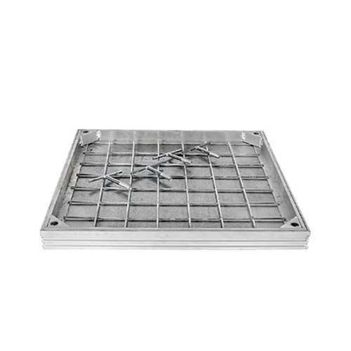 300x300mm WREKiN Aluminium 40mm Recessed Access Cover.