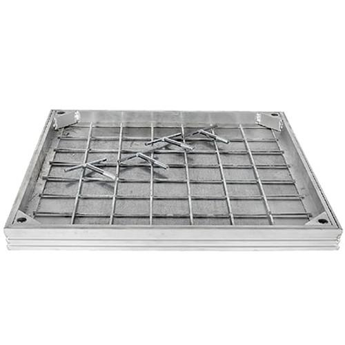 750x600mm WREKiN Aluminium 40mm Recessed Access Cover.