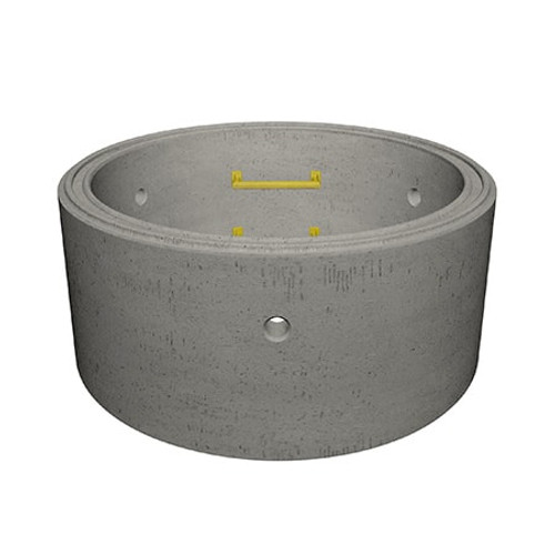 1050 x 500mm Concrete Manhole Ring.