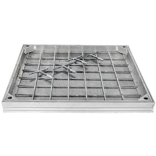 750x750mm WREKiN Aluminium 40mm Recessed Access Cover.