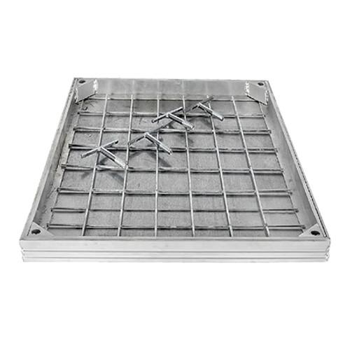 900x600mm WREKiN Aluminium 40mm Recessed Access Cover.