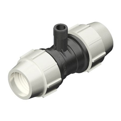 PLASSON MDPE Compression Coupling with Riser.
