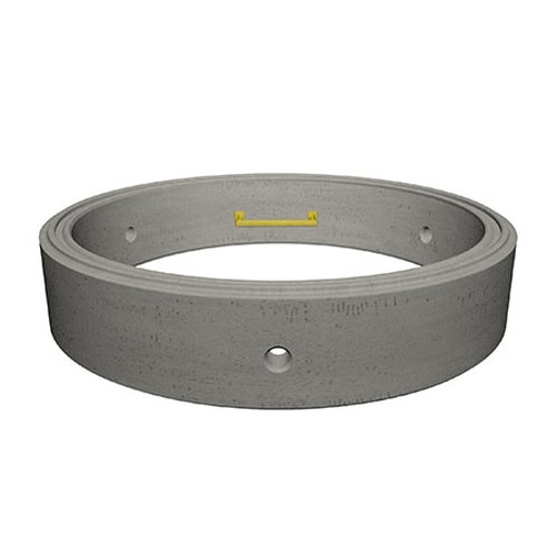1200 x 250mm Concrete Manhole Ring.