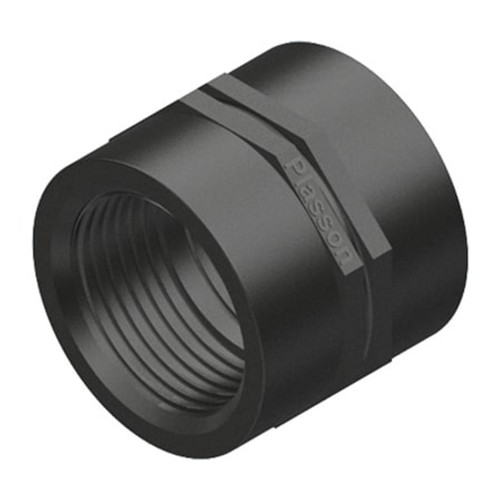 PLASSON Threaded MDPE Socket.