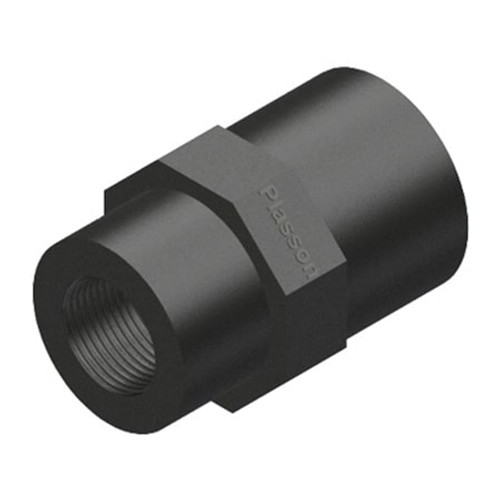 "3/4""x1/2"" Threaded MDPE Reducing Socket."