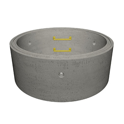 1200 x 500mm Concrete Manhole Ring.