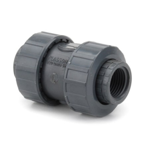 PLASSON Non Return Threaded PVC Valve.