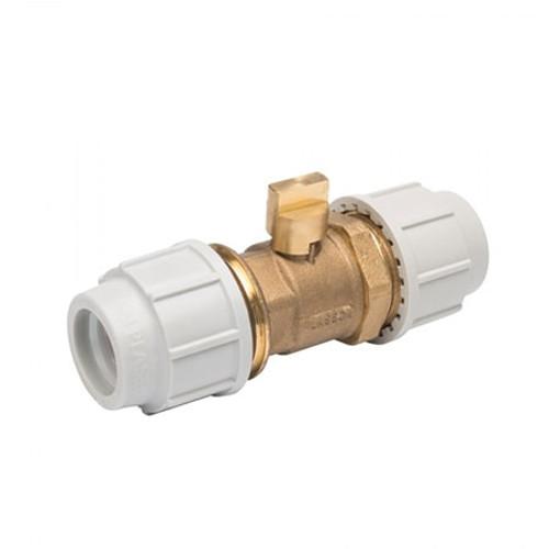 PLASSON DZR Brass Plug Tap.